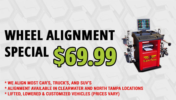tires wheel alignment special