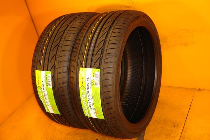 Used Tires Tampa >> DELINTE 245/35/20