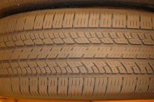 2 Used Tires 245/55/18 BFGOODRICH