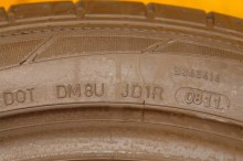 2 Used Tires 245/45/18 DUNLOP