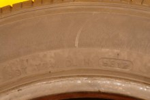 2 Used Tires 175/65/15 HANKOOK
