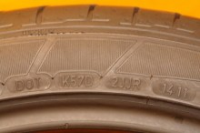 2 Used Tires 295/35/21 DUNLOP
