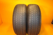 2 Used Tires 255/65/17 CONTINENTAL