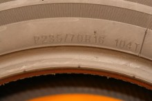1 Almost New Tire 235/70/16 KUMHO
