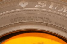 1 Almost New Tire 225/55/16 SUMITOMO