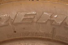 1 Used Tire 235/55/16 FIRESTONE