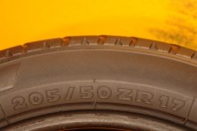 2 Used Tires 205/50/17 MICHELIN