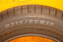 1 Used Tire 215/65/17 MICHELIN