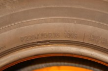 1 Like New Tire 225/70/16 TOYO