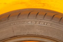 1 Used  Tire 205/45/16 GOODYEAR