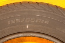 2 Used Tires 185/65/14 DOUGLAS