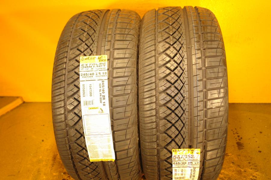 245/40/18 CONTNENTAL - New and Used TIRES in Tampa Bay, Clearwater FL